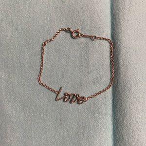 """Tiffany & Co """"Love"""" Bracelet"""